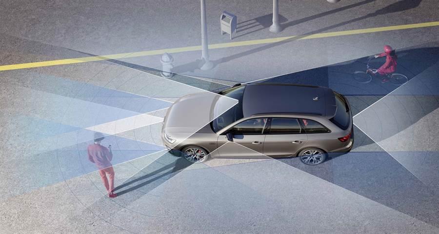 A4全車系標配全方位安全科技。