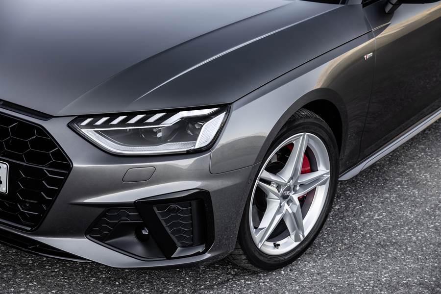 全新設計之LED頭尾燈組,為Audi招牌之一。