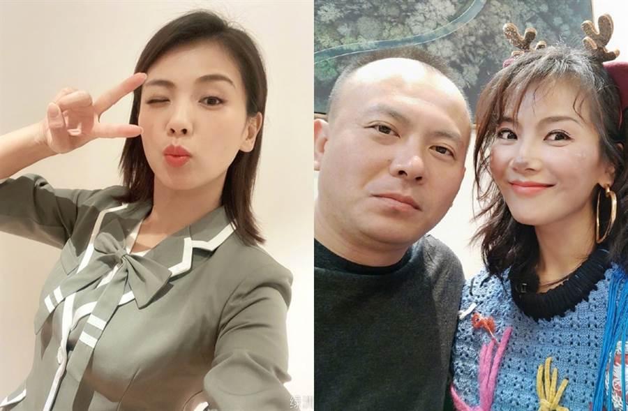 劉濤與王珂13年前閃婚。(圖/翻攝自劉濤tamia微博)