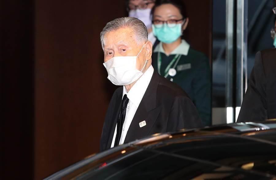 日本前首相森喜朗將二度來台弔唁李登輝。(資料照,圖/鄭任南攝)