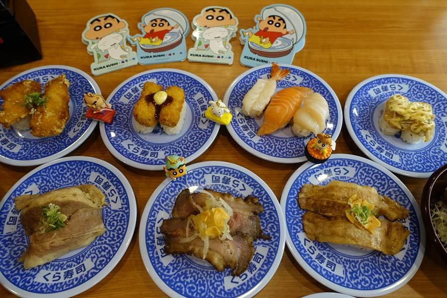 「享肉祭」為肉食控打造10款期間限定商品。(黃采薇攝)
