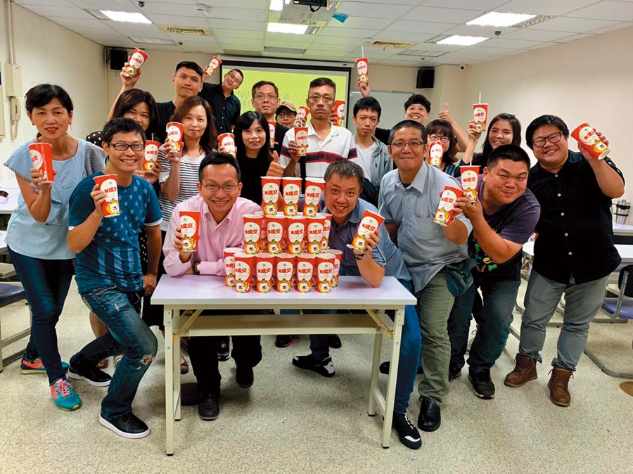 NU PASTA推出創新飲品「成交茶」,希望帶給消費者成交好運氣。圖/唯賀提供