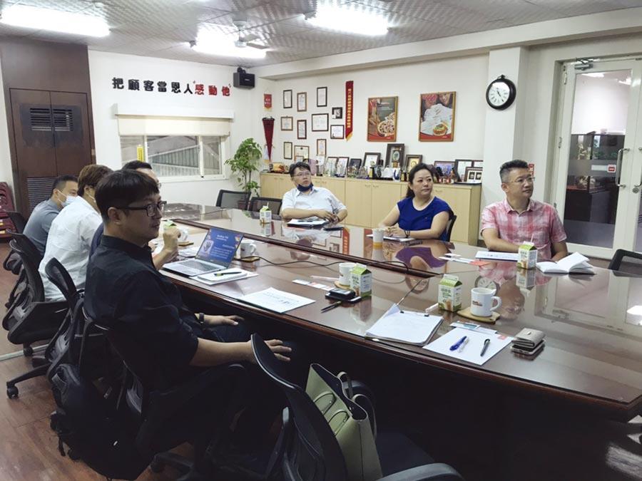 外送平台輔導方案說明會現場。圖/台灣連鎖加盟促進協會提供