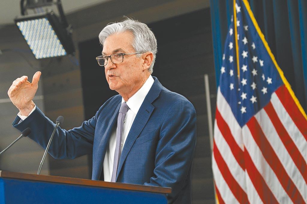Fed主席鮑爾表示,美國復甦速度比預期快,上修今年經濟展望。圖/美聯社