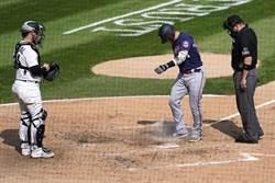 MLB》大聯盟罕見鏡頭 唐納森開轟卻被主審驅逐
