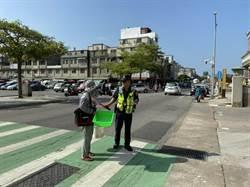 金門路口安全大執法  闖紅燈取締54件最多