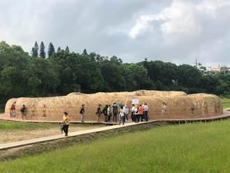 桃園地景藝術節登場藝術家以竹創作