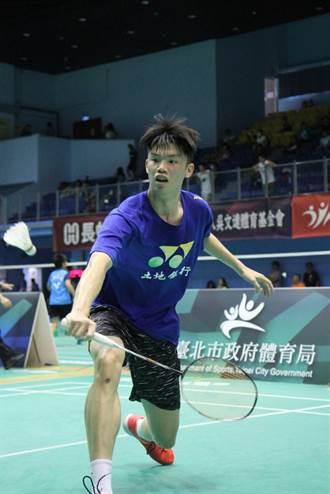 會長盃青少年羽球分齡賽 廖倬甫奪19歲組冠軍