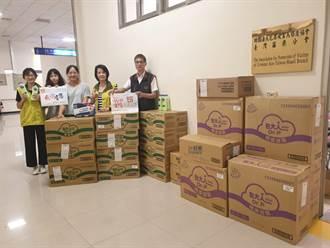 犯保協會苗栗分會獲台新基金會捐贈物資