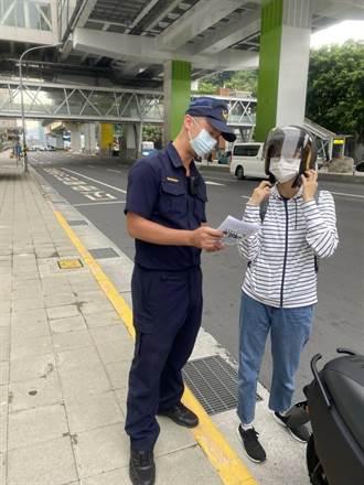 響應全國交通安全周 中和警加強安全宣導