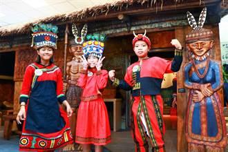 丹路國小「射不力孩子」傳承部落文化有一套 自創圖騰與頭飾超自信