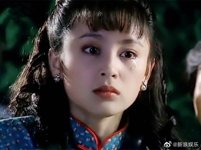 陳紅過去拍瓊瑤戲,被讚大陸第一美人。(圖/翻攝自新浪娛樂微博)