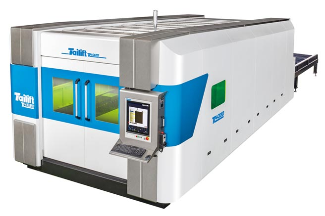 台勵福TL系列雷射切割機,具有高性價比的優勢,能協助客戶快速升級跨入雷射切割應用。圖/業者提供