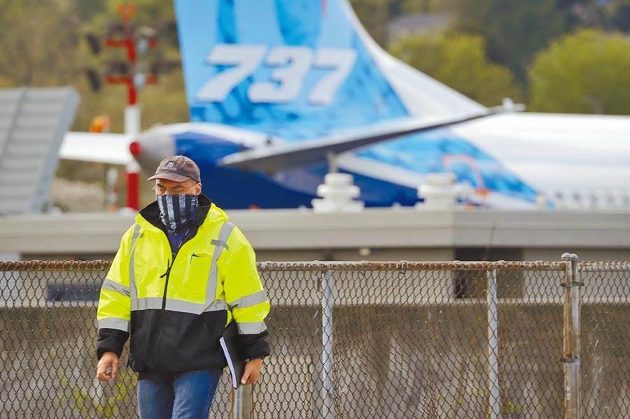 針對波音737MAX8客機的2起致命空難,國會最終調查報告認定波音和聯邦航空管理局(FAA)均有疏失責任。圖為波音公司位於華盛頓州倫頓的737MAX系列客機工廠。(美聯社)