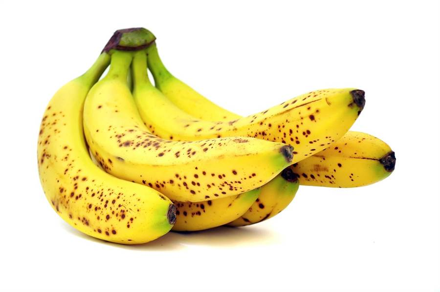 專家指出,香蕉可以增強免疫,而且越成熟的、黑斑越多的香蕉,免疫活性越高。(達志影像/shutterstock)