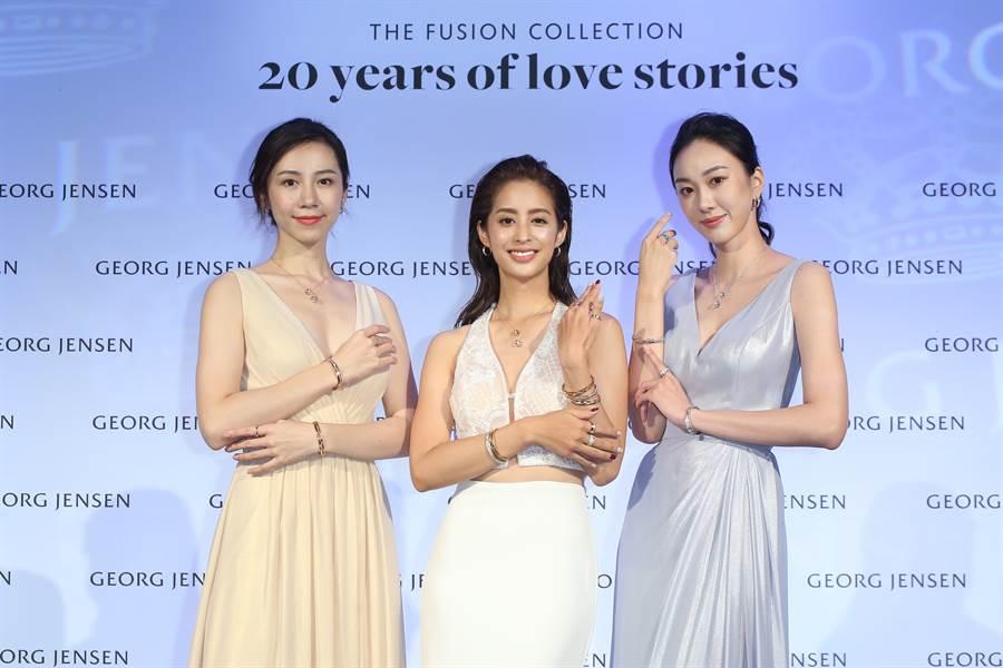 FUSION 20週年限量訂製戒款,將8種愛的故事透過指間傳遞到心間。(圖/品牌提供)