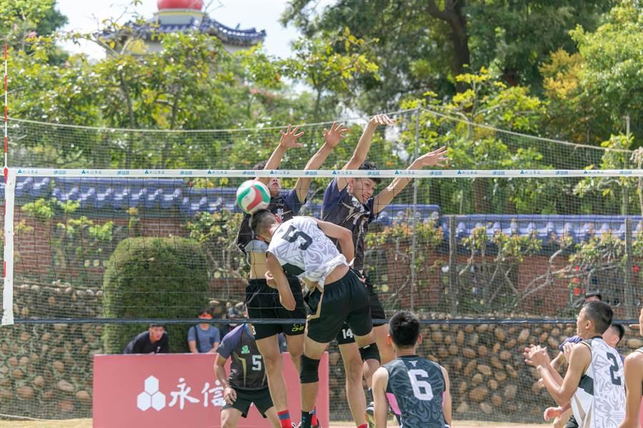 不受新冠肺炎疫情衝擊,永信盃排球賽依舊預計19日於台中市鐵砧山永信運動公園點燃戰火。(體育署提供)