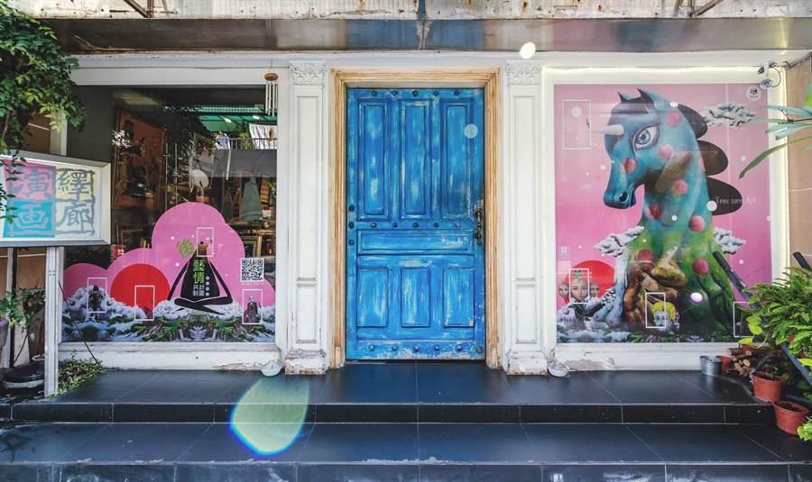 Angela X愛樂思藝術旗艦店 X 錦鋐氣密窗,令人眼睛為之一亮的藝術櫥窗展演。(JUKSY提供)