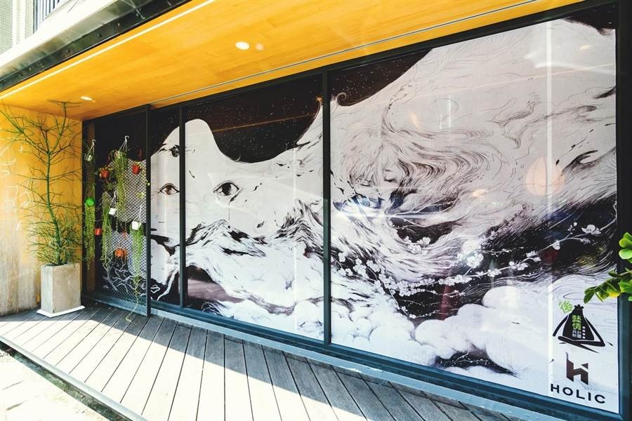 陳青琳 X 一味 XHOLIC,台北市大安區復興南路一段 107 巷 5 弄 19 號。(JUKSY提供)