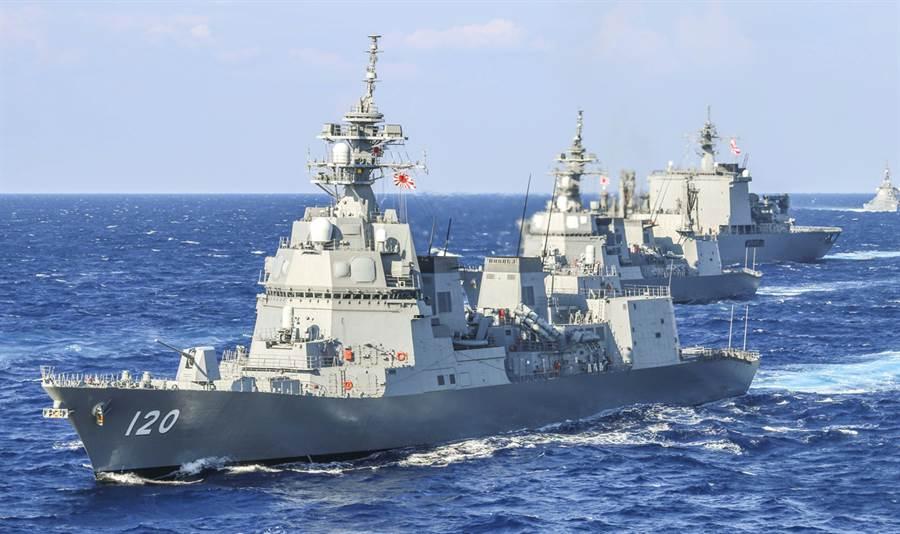 日本令和元年度海上自衛隊演習。(圖片/摘自海上自衛隊官網)