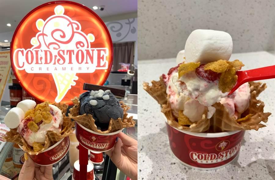 100%百花蜜冰淇淋香甜登場 加碼KitKat挑戰苦甜味蕾誘惑(圖/楊婕安攝)