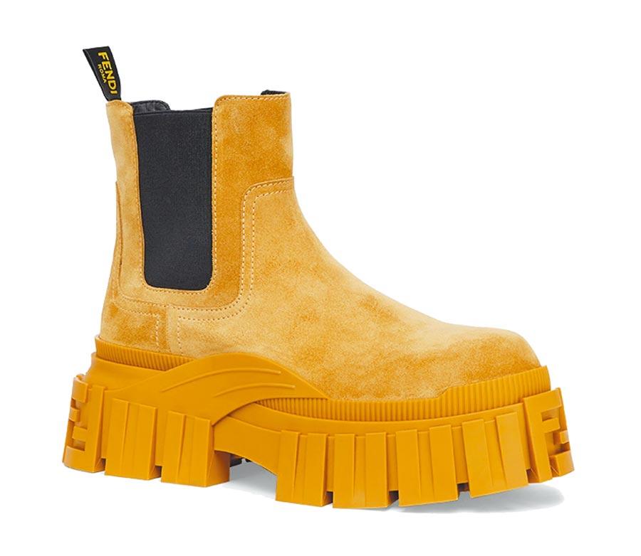 Fendi厚底造型休閒鞋,3萬7500元。(Fendi提供)