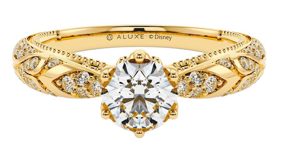 ALUXE阿拉丁Be My World婚嫁系列求婚鑽戒(RSDA201),價格店洽。(ALUXE提供)