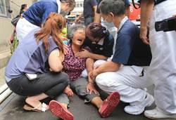 台中東海商圈民宅氣爆4死1傷  家屬到場痛哭癱倒 無法接受