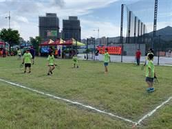 新北市旋風球友誼盃 小學生揮灑汗水拚佳績
