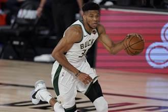 NBA》字母哥年度MVP二連霸 上場時間最少