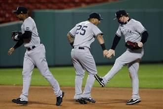 MLB》基襪戰林子偉替補守右外野 洋基9連勝