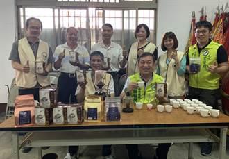 大坑咖啡日本皇室御用 市議員曾朝榮帶頭行銷全台