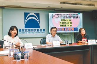 國民黨民調 7成民眾憂食安危機