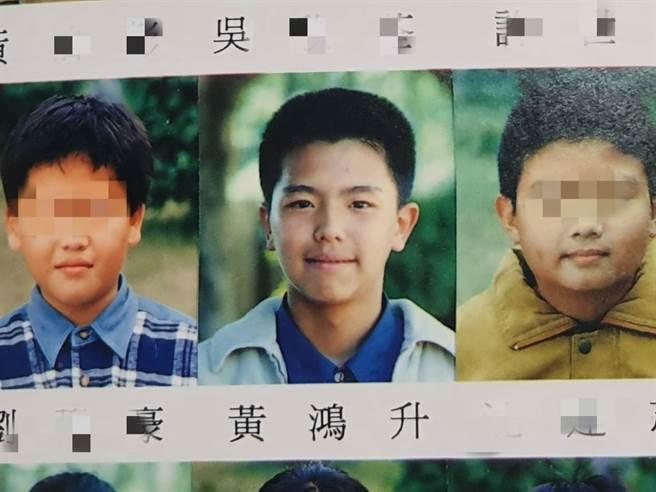 藝人黃鴻升就讀北投逸仙國小,青澀畢業照曝光。(照片/游定剛 拍攝)