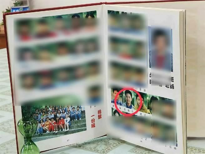 黃鴻升當年就讀北投逸仙國小6年10班。(照片/游定剛 拍攝)