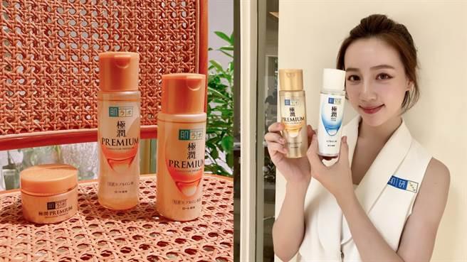 肌研化妝水因為便宜又有優異的保溼力一直非常受到台灣消費者歡迎,全新推出「極潤金緻」系列為秋冬乾燥肌膚帶來更有感的保溼力!(圖/邱映慈攝影)