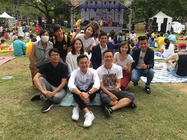 一連兩天登場的新竹生活節「國際日」19日下午起於新竹市關新公園開跑。(陳育賢攝)