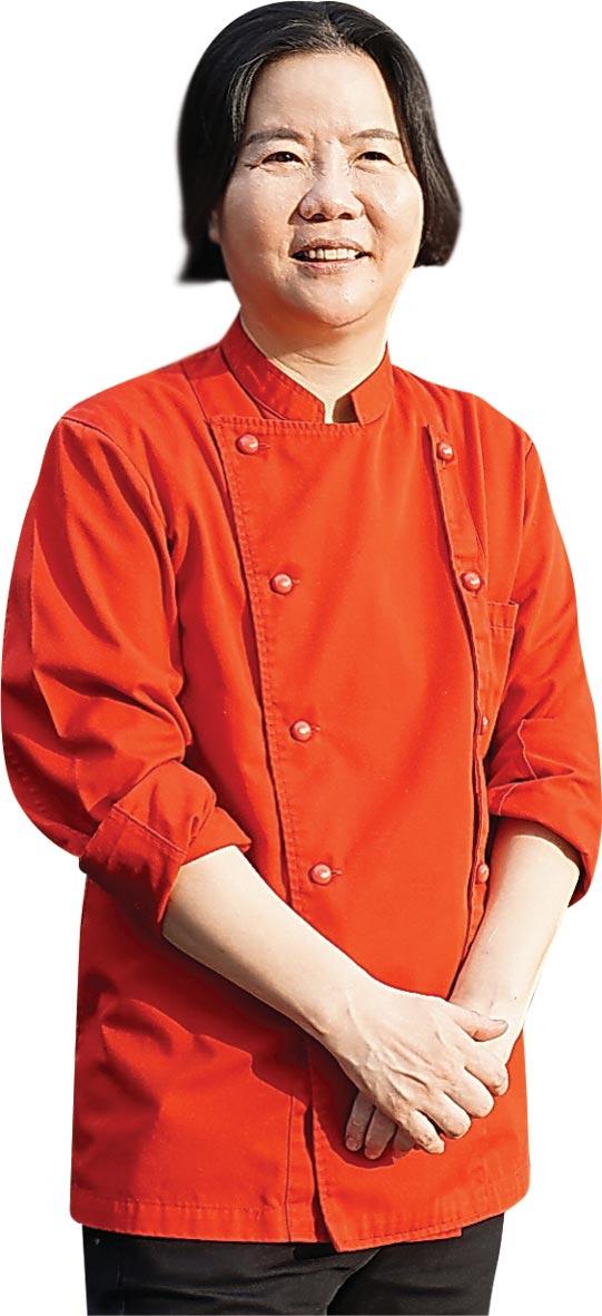 ˙〈鹽之華〉法式餐廳主廚黎俞君是首位在米其林指南中摘星的台灣籍法菜女主廚。圖/姚舜