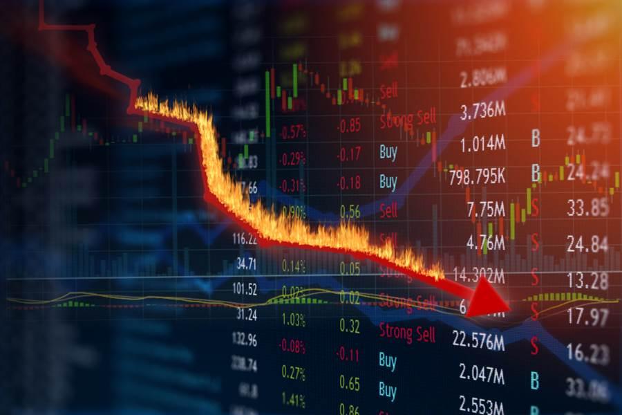 美股再度迎來黑色星期五,盤中一度暴跌逾400點。(示意圖/達志影像/shutterstock)