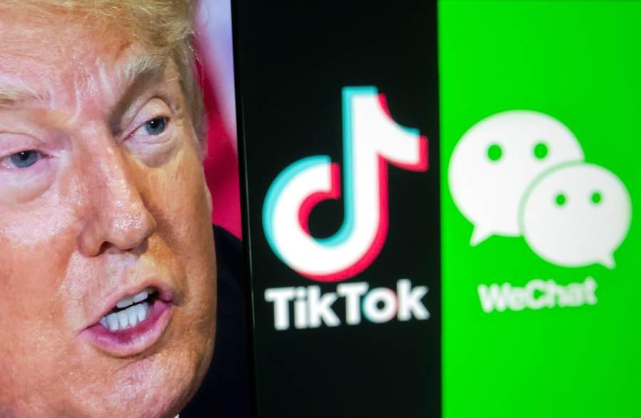 美國政府內部人士分析,TikTok現在還有一線生機,微信在美國則是準備「徹底完蛋」了。(路透)