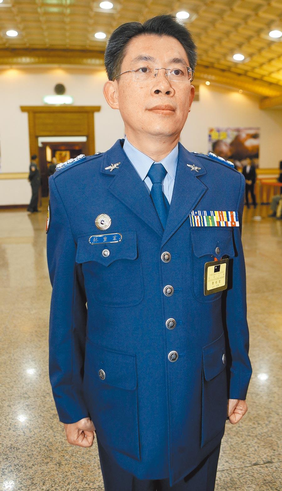 空軍前少將聯隊長林重宏,傳Line給女性部屬稱「愛妃、愛妾、寶貝蛋」、「我整夜沒睡,親一個來」,並有不當肢體碰觸,懲戒法院第一審判他降1級改敘。可上訴。(本報資料照片)