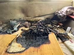 台中市北屯區出租套房起火 獨居男70%燙傷送醫