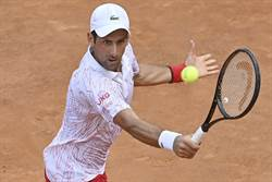 羅馬網球賽》喬帥又場上暴怒 這次是球拍遭殃
