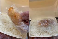 正妹叫外送 打开一看竟是白饭加生虾 网笑:买到DIY组合包?
