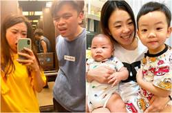 二伯生完5個月「我們家又多一個新成員」蔡波能當哥哥了