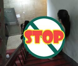 爆乳妹站整排 外送員誤闖萬華「摸乳樓梯」:我只是來送餐的