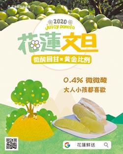 徐榛蔚化身代言人推銷花蓮文旦柚「酸甜回甘 黃金比例」好滋味