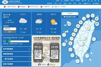 921防災日 內政部明發「地震演習簡訊」電視台將同步放送訊息