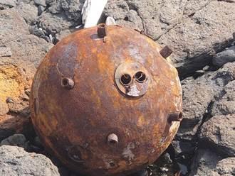 澎湖無人島鋤頭嶼發現疑似共軍武器水雷 軍方緊急因應善後