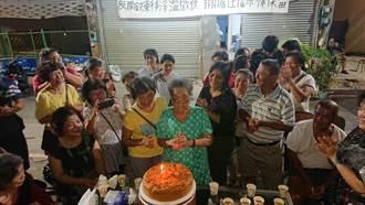 台南鐵路地下化北區唯一釘子戶緩拆到期 支持者齊聚辦晚會